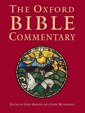 Cover of The Oxford Bible Commentary
