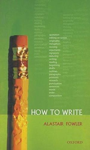 Cover of How To Write