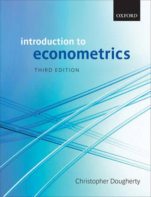 Cover of Introduction to Econometrics
