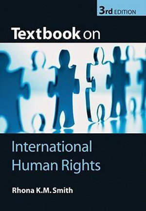 Cover of Textbook on International Human Rights