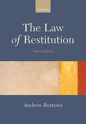 Cover of The Law of Restitution