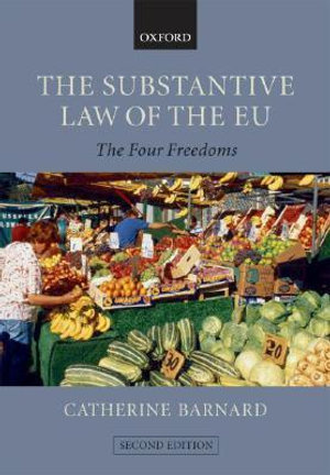 Cover of The Substantive Law of the EU