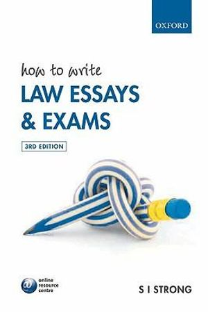 Cover of How to Write Law Essays and Exams