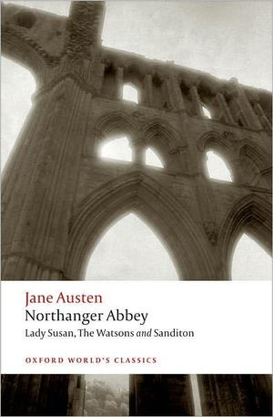 Cover of Northanger Abbey, Lady Susan, The Watsons, Sanditon