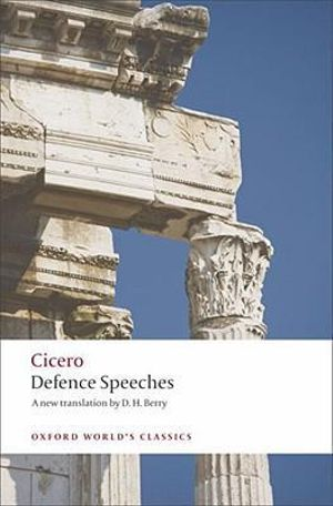 Cover of Defence Speeches