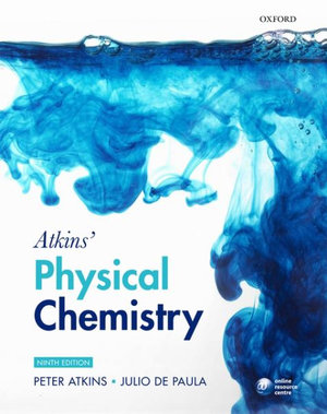 Cover of Atkins' Physical Chemistry