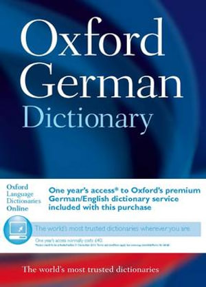 Cover of Oxford German Dictionary