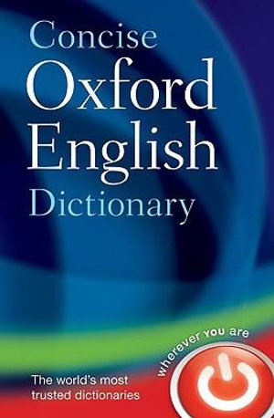 Cover of Concise Oxford English Dictionary