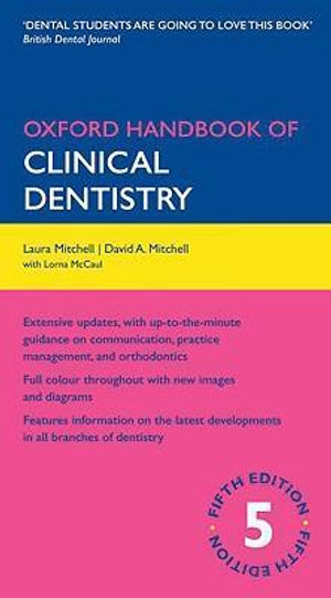 Cover of Oxford Handbook of Clinical Dentistry