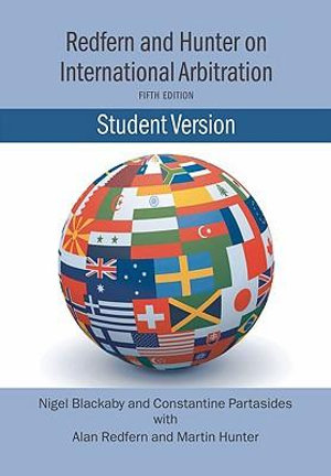 Cover of Redfern and Hunter on international arbitration