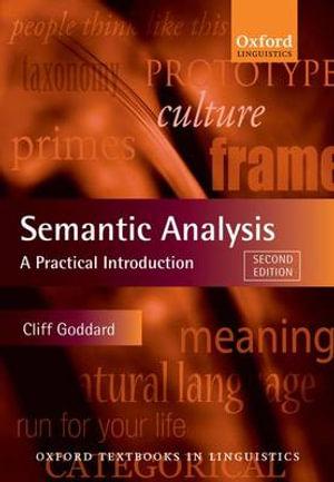 Cover of Semantic Analysis
