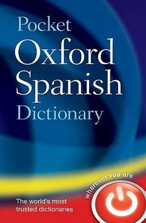 Cover of Pocket Oxford Spanish Dictionary