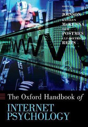 Cover of Oxford Handbook of Internet Psychology