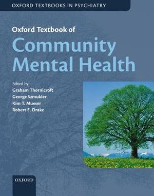 Cover of Oxford Textbook of Community Mental Health
