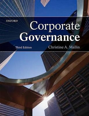 Cover of Corporate Governance