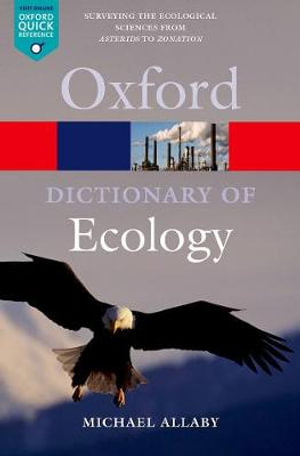 Cover of A Dictionary of Ecology