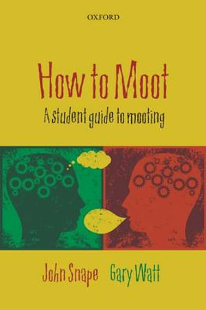 Cover of How to Moot