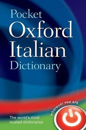 Cover of Pocket Oxford Italian Dictionary