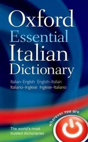 Cover of Oxford Essential Italian Dictionary