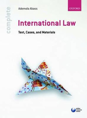Cover of Complete International Law