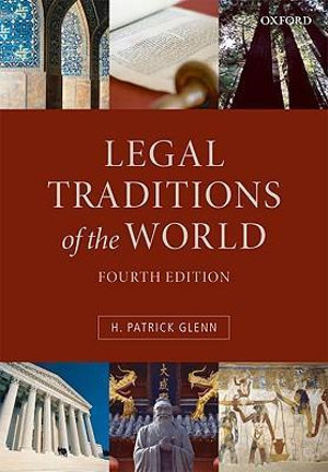 Cover of Legal Traditions of the World