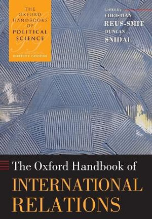 Cover of The Oxford Handbook of International Relations