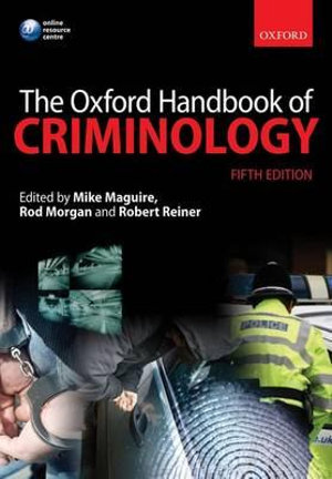Cover of The Oxford Handbook of Criminology
