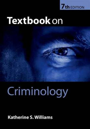 Cover of Textbook on Criminology