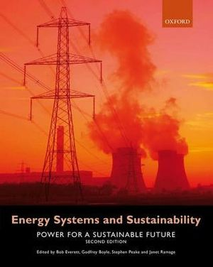 Cover of Energy Systems and Sustainability