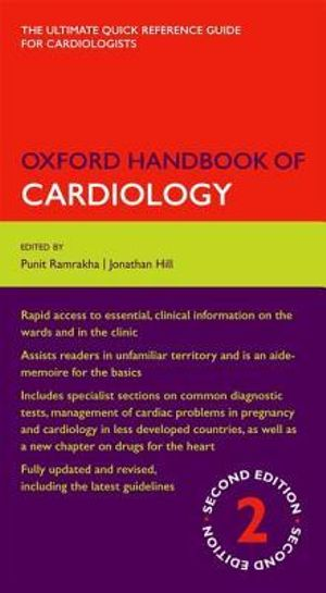 Cover of Oxford Handbook of Cardiology