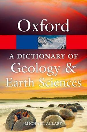 Cover of A Dictionary of Geology and Earth Sciences