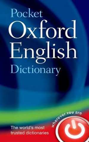Cover of Pocket Oxford English Dictionary