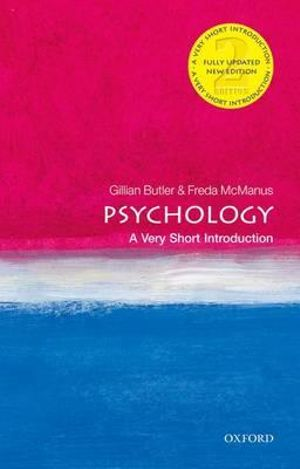 Cover of Psychology: A Very Short Introduction