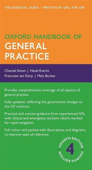 Cover of Oxford Handbook of General Practice