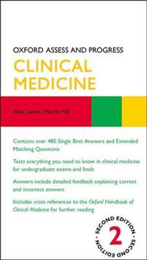 Cover of Oxford Assess and Progress: Clinical Medicine Second Edition