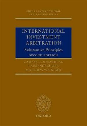Cover of International Investment Arbitration