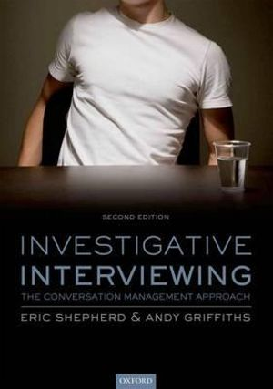 Cover of Investigative Interviewing