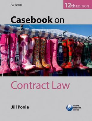 Cover of Casebook on Contract Law