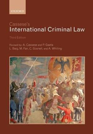 Cover of Cassese's International Criminal Law