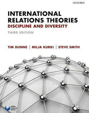 Cover of International Relations Theories