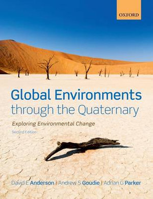 Cover of Global Environments Through the Quaternary