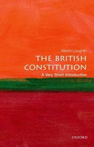 Cover of The British Constitution: A Very Short Introduction