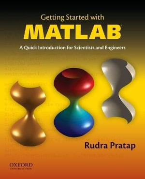 Cover of Getting Started With MATLAB