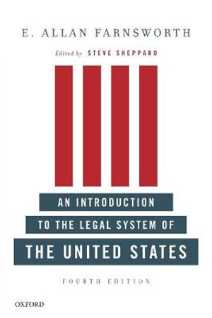 Cover of An Introduction to the Legal System of the United States