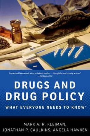 Cover of Drugs and Drug Policy