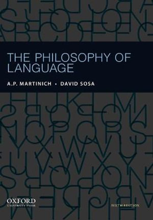 Cover of The Philosophy of Language