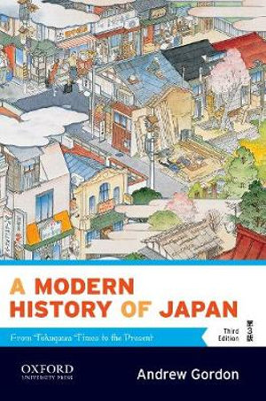 Cover of A Modern History of Japan