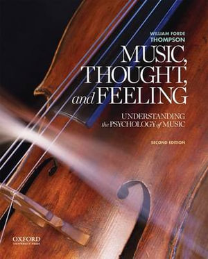 Cover of Music, Thought, and Feeling