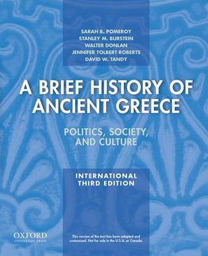 Cover of A Brief History of Ancient Greece, International Edition