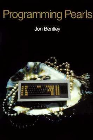 Cover of Programming Pearls